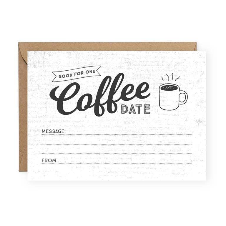 The Anastasia Co Coffee Date Greeting Card
