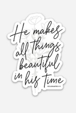 The Anastasia Co He Makes All Things Beautiful Sticker