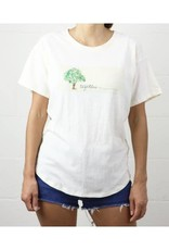 Fabina Eco Graphic Recycled Cotton Top