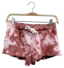 Fabina Rust Drop Dead Tie Dye SHorts