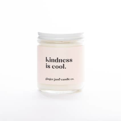 Ginger June Candle Co. Kindess is Cool - Non Toxic Soy Candle