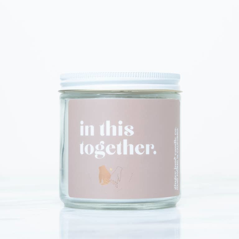 Ginger June Candle Co. In This Together - Non Toxic Soy Candle