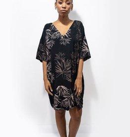 Tonle Veha Black Cactus Dress