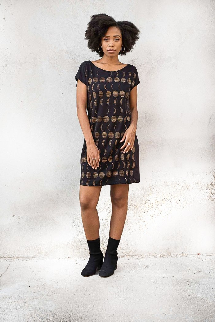 Tonle Moons Basic T-Shirt Dress