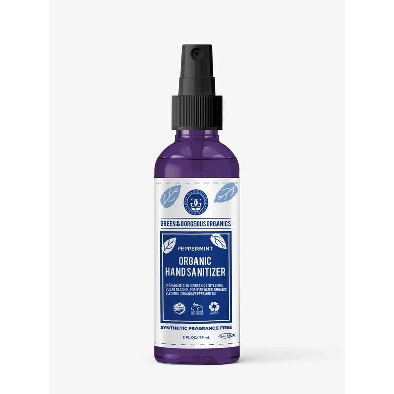 Green and Gorgeous Organics Organic Hand Sanitizer Spray