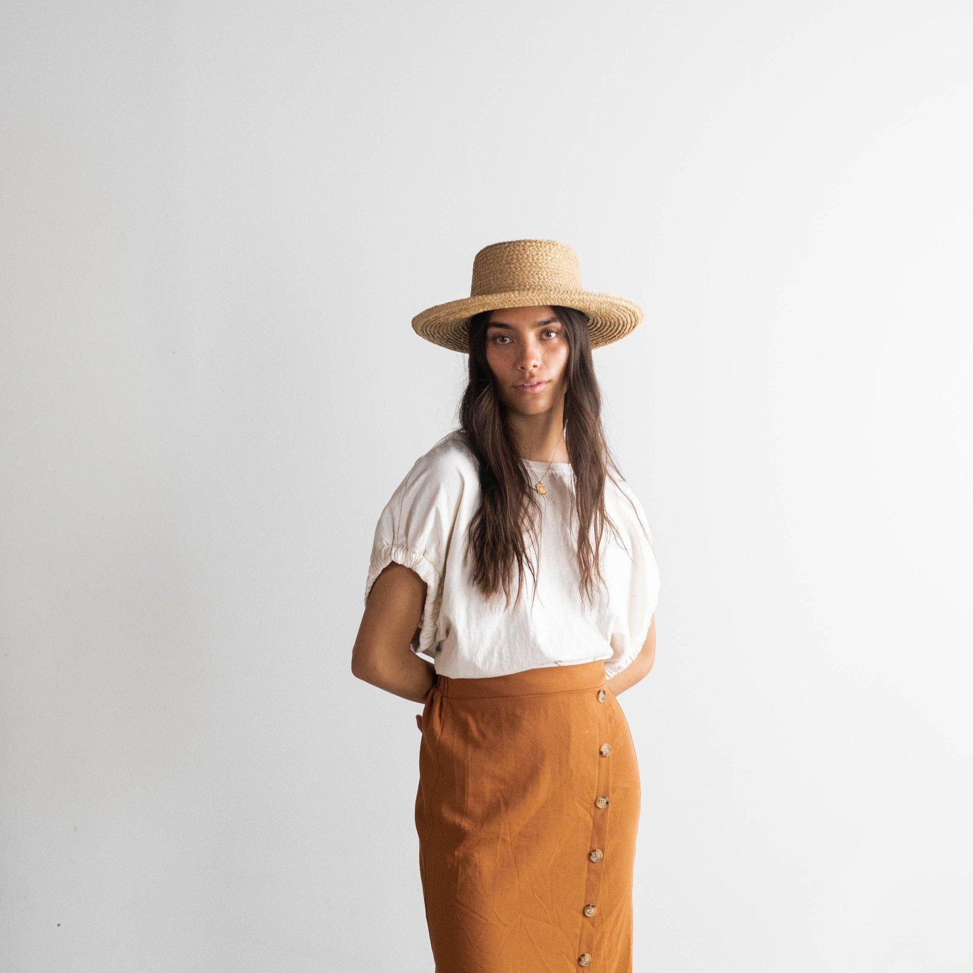 Gigi Pip 2020 Sloan Straw Hat