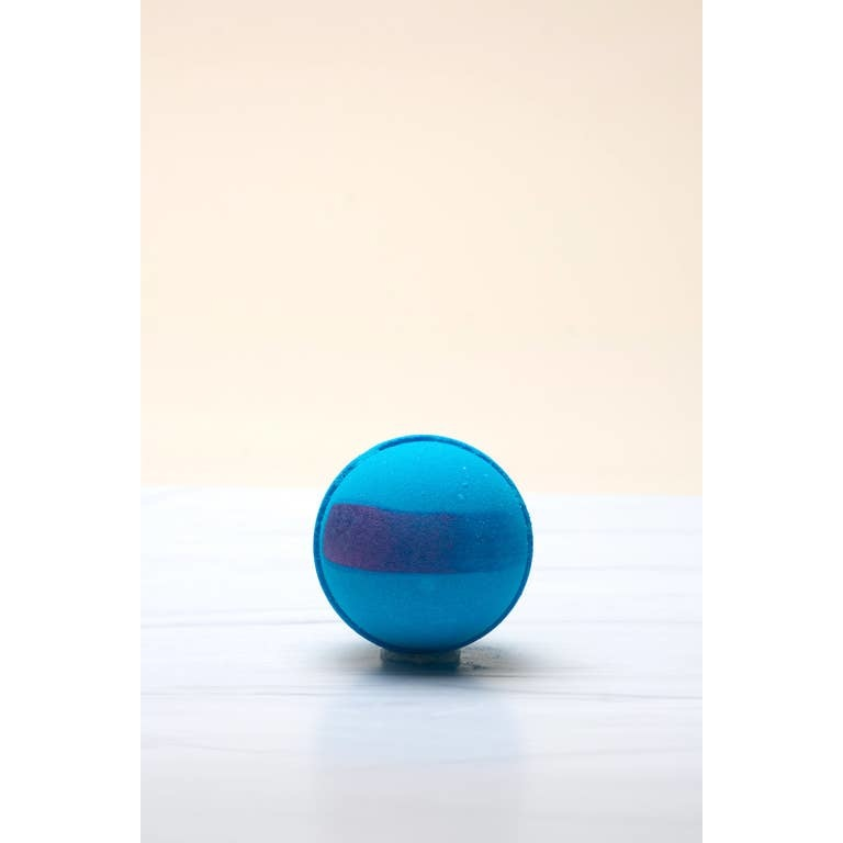 Latika Beauty Texas Bluebonnet Color Changing Bath Bomb