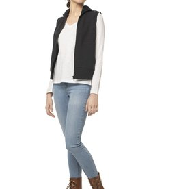 Synergy Black Cashmere Morgan Vest