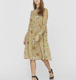 Vero Moda Cille Floral Midi Dress