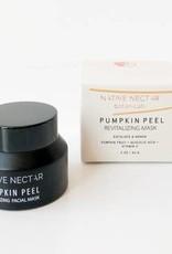 Native Nectar Botanicals Pumpkin Peel Face Mask