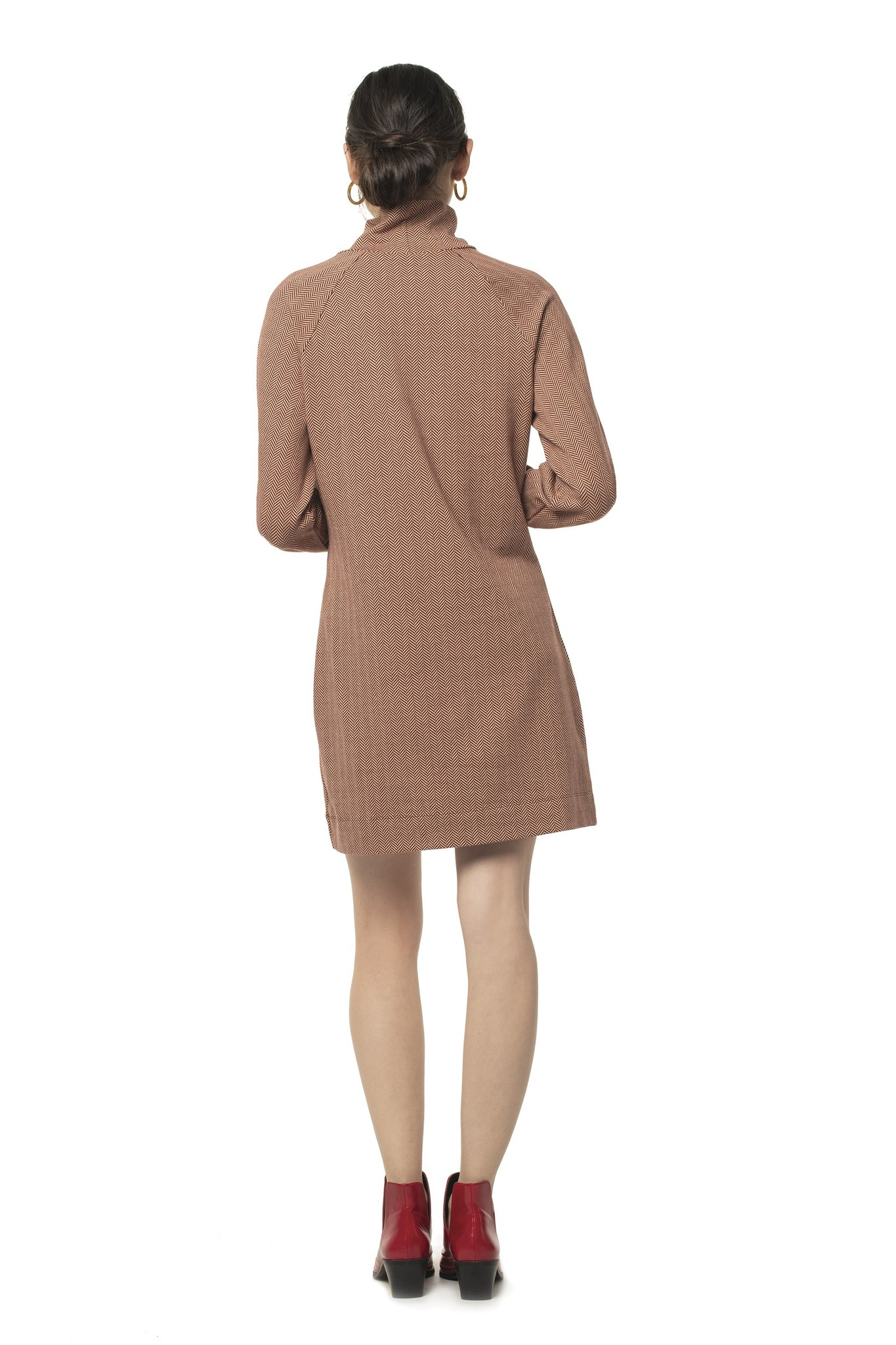 Synergy Herringbone Brick Phoebe Dress