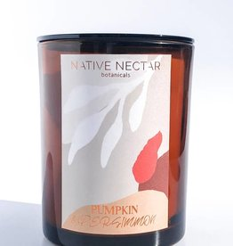 Native Nectar Botanicals Pumpkin & Persimmon Candle