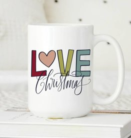 Sweet Mint Handmade Goods Love Christmas Colorful Mug