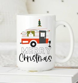 Sweet Mint Handmade Goods Merry Christmas Camper
