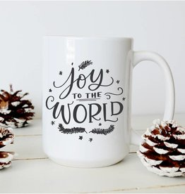 Sweet Mint Handmade Goods Joy to the World Mug