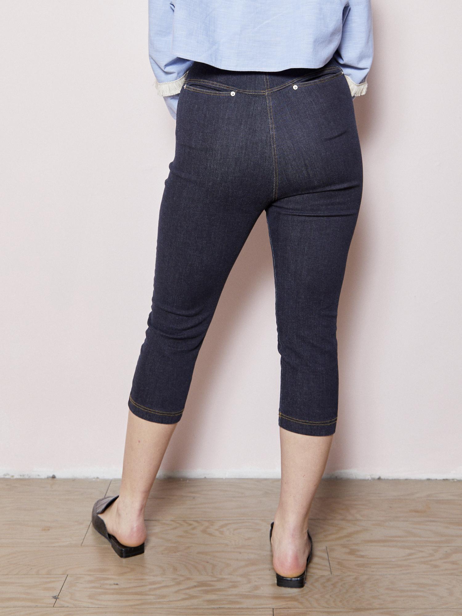 d.r concept Paneled Stretch Indigo Pant
