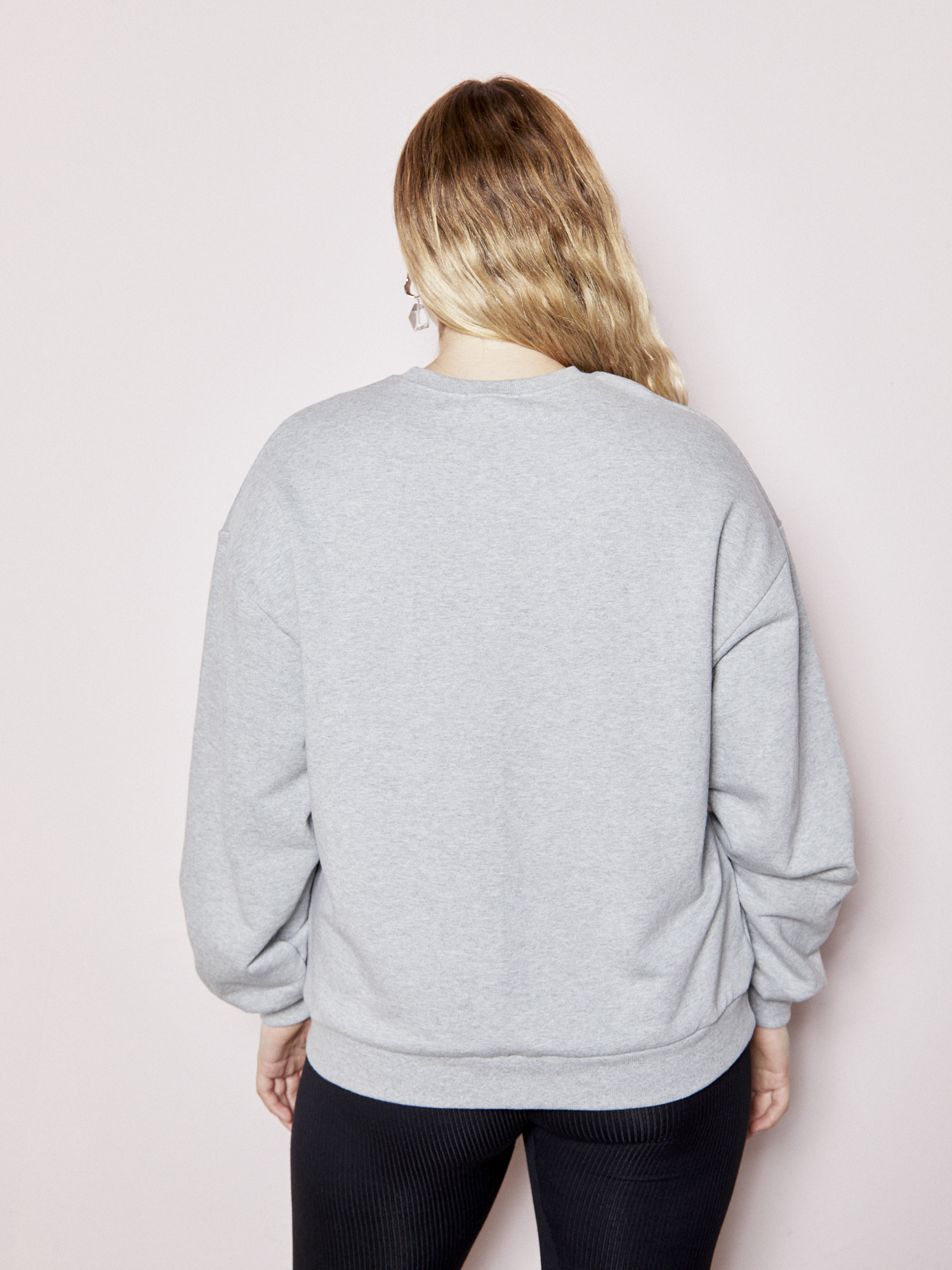 Unless Effortless Grey Sweatshirt
