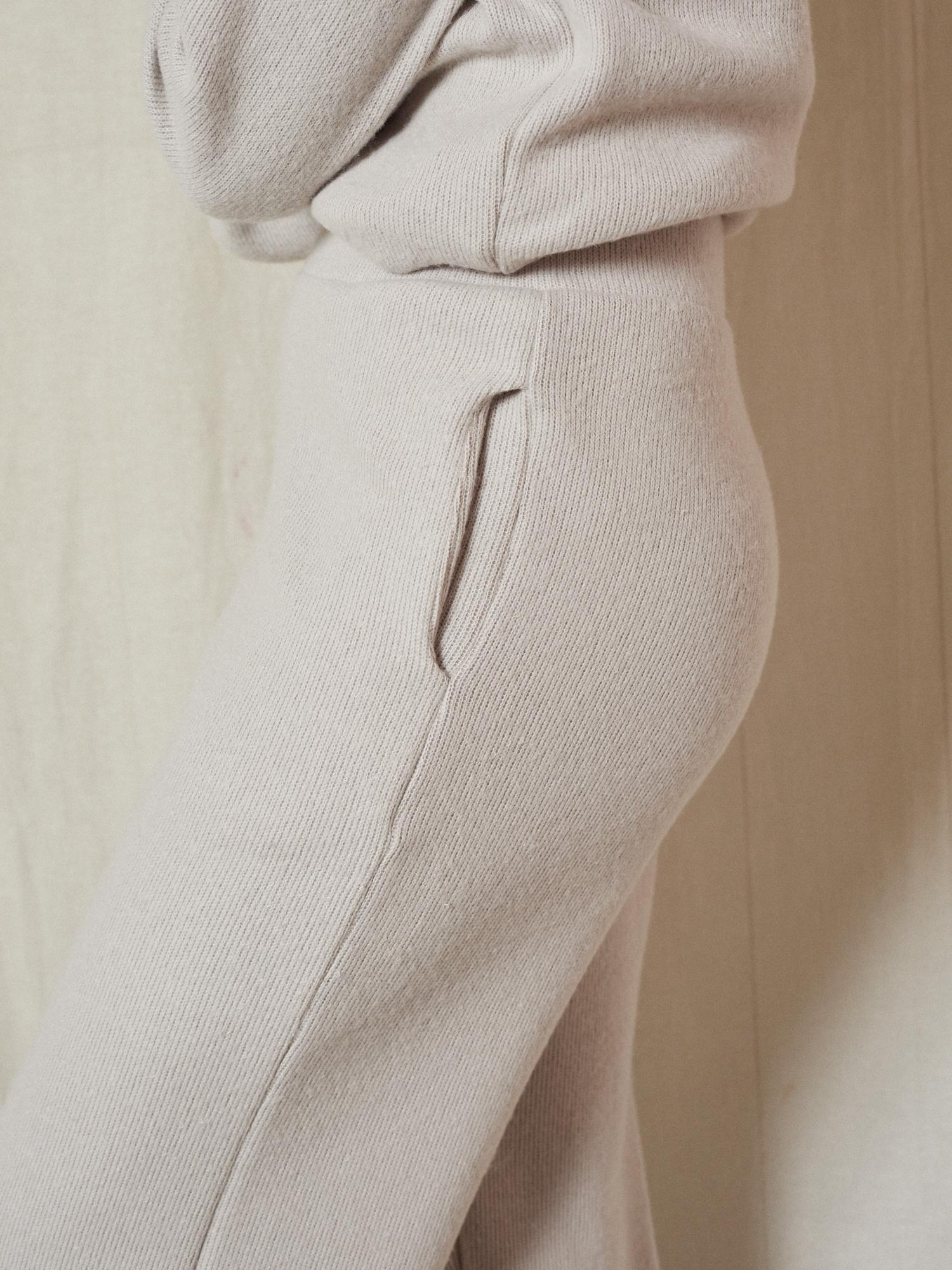 Where Wear Effortless Knit Beige Pant