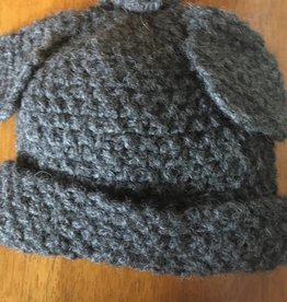 Dog Ear Alpaca Hat Hand knit RLH1260