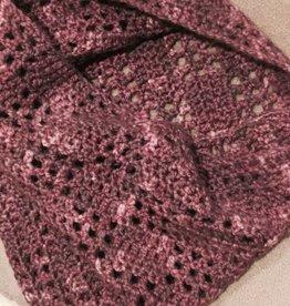 Hand Knit Wintergreen Cowl