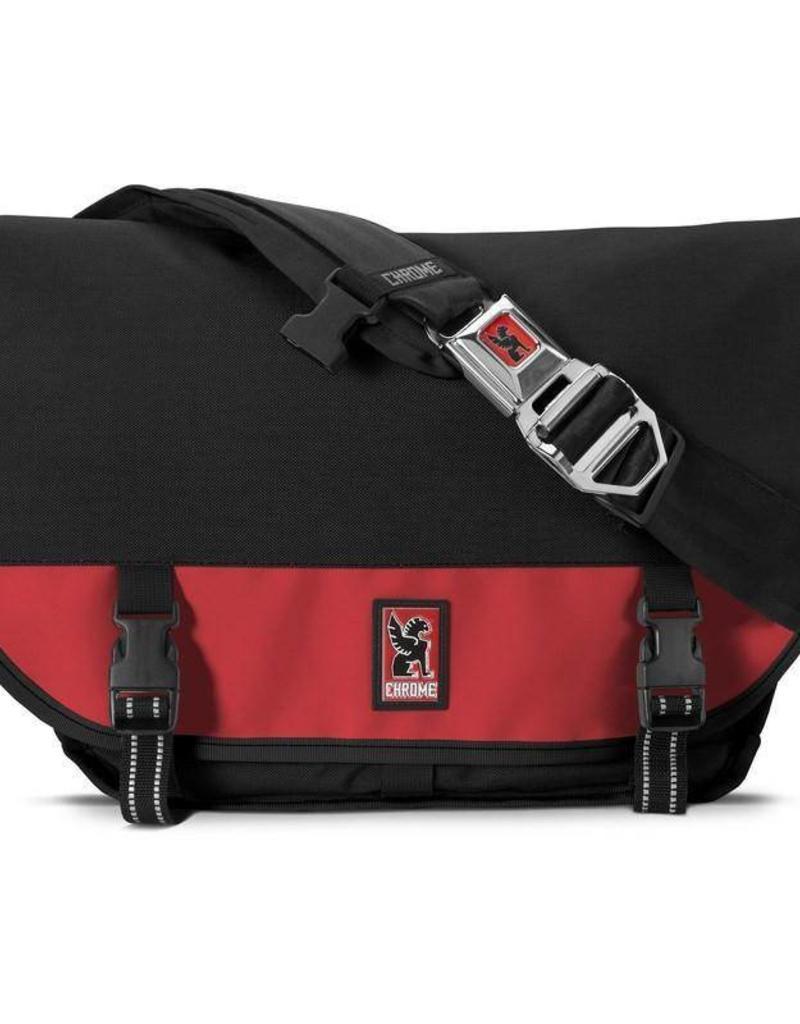 Chrome Bag Mini Metro Messenger Red Black