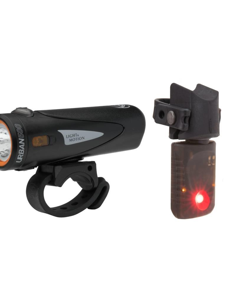 Light & Motion Light - Combo - Light and Motion Urban 500 Onyx + Vya TL