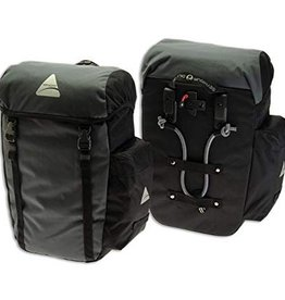 Pannier - Axiom - Seymour DLX 30 Liter Set: Black/Gray