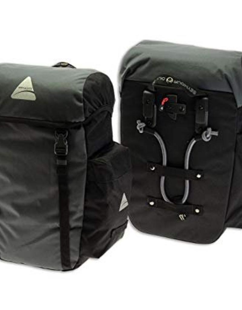 Pannier - Axiom - Seymour DLX 30 Liter Set: Black/Gray