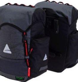 Pannier - Axiom Monsoon DLX 35 Waterproof Pannier: Gray/Black Single