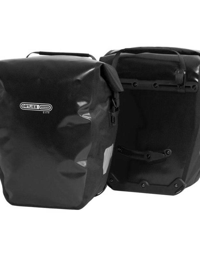 Ortlieb Pannier - Ortlieb Back-Roller City Rear Pannier: Pair~ Black