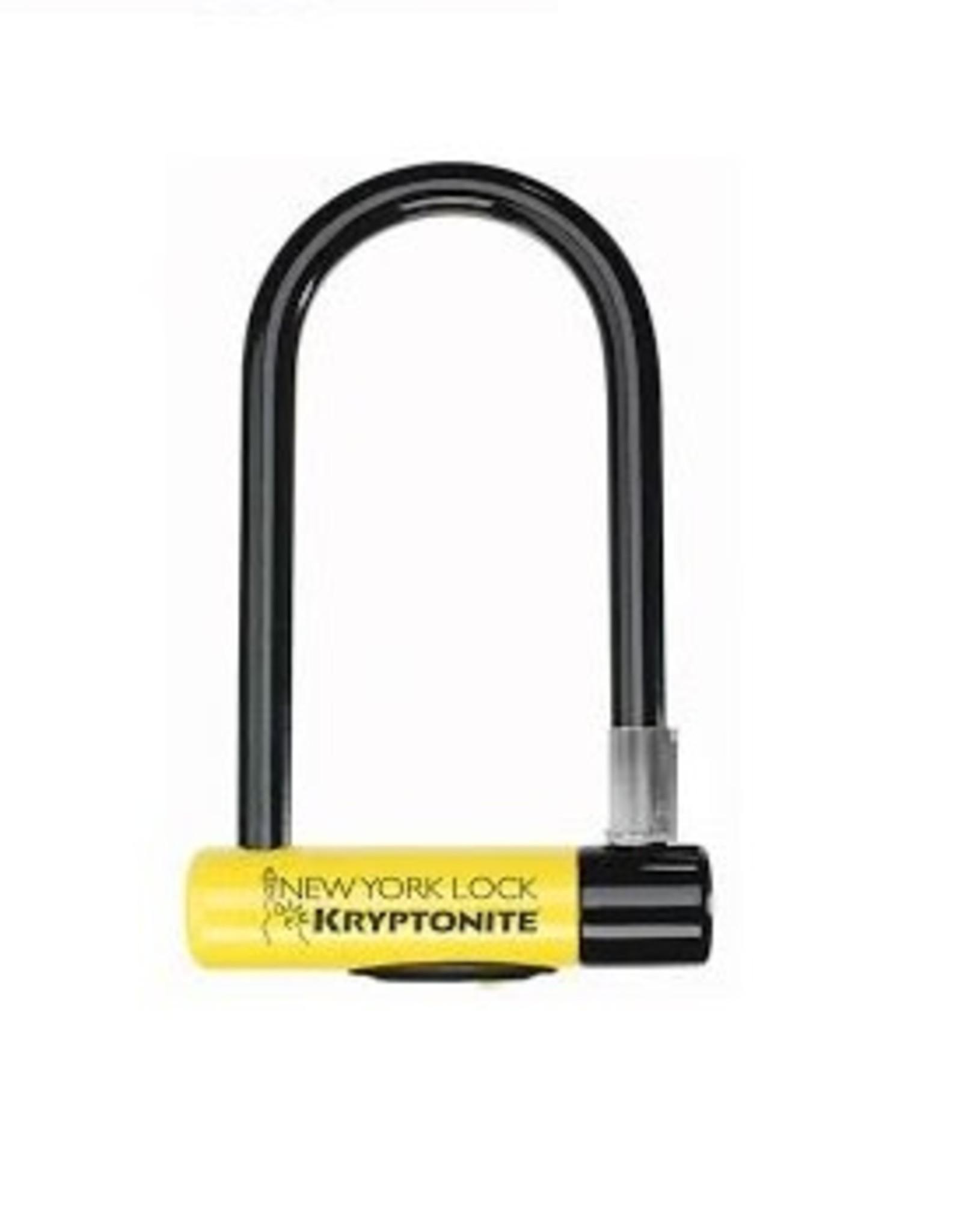 Kryptonite New York Std w/FlexFrame-U bracket (Yellow)