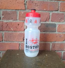 Water Bottle - UA I Bike Boston Big Mouth Red