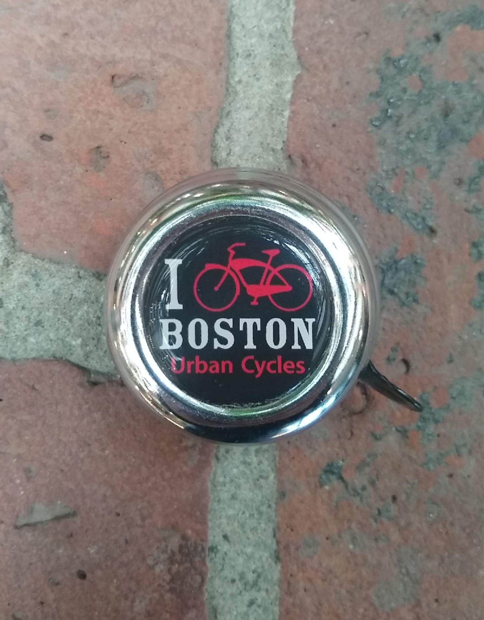 Bell - I Bike Boston Chrome/Black (Big Size)
