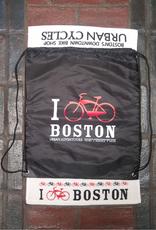 Cinch Bag - I Bike Boston Shopping Bag