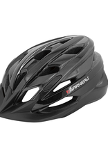 Louis Garneau Helmet - Louis Garneau Majestic XL Black/Grey (ROTEX)