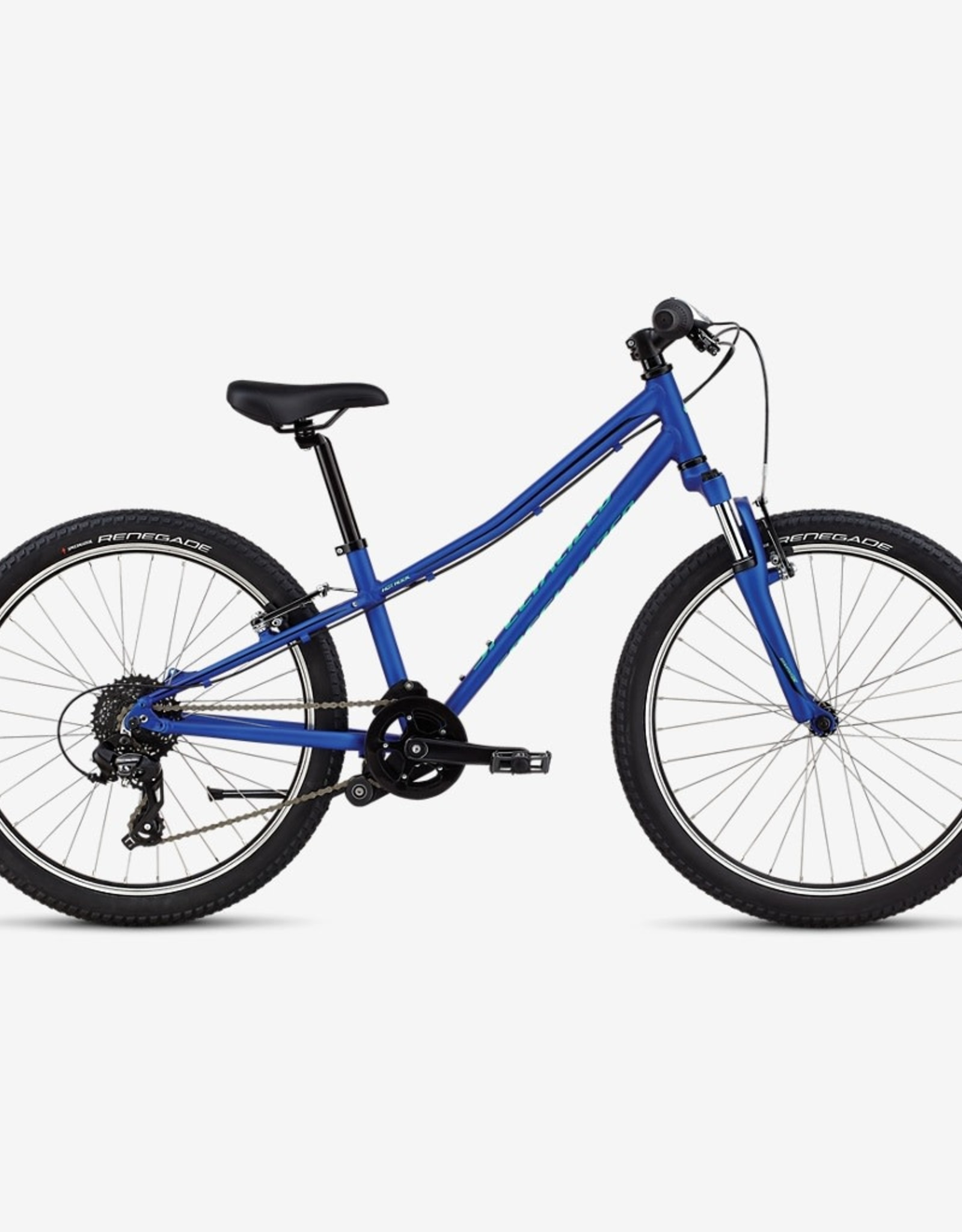 "Specialized Specialized Hotrock 24"" Acid Blue / Black Bicycle"
