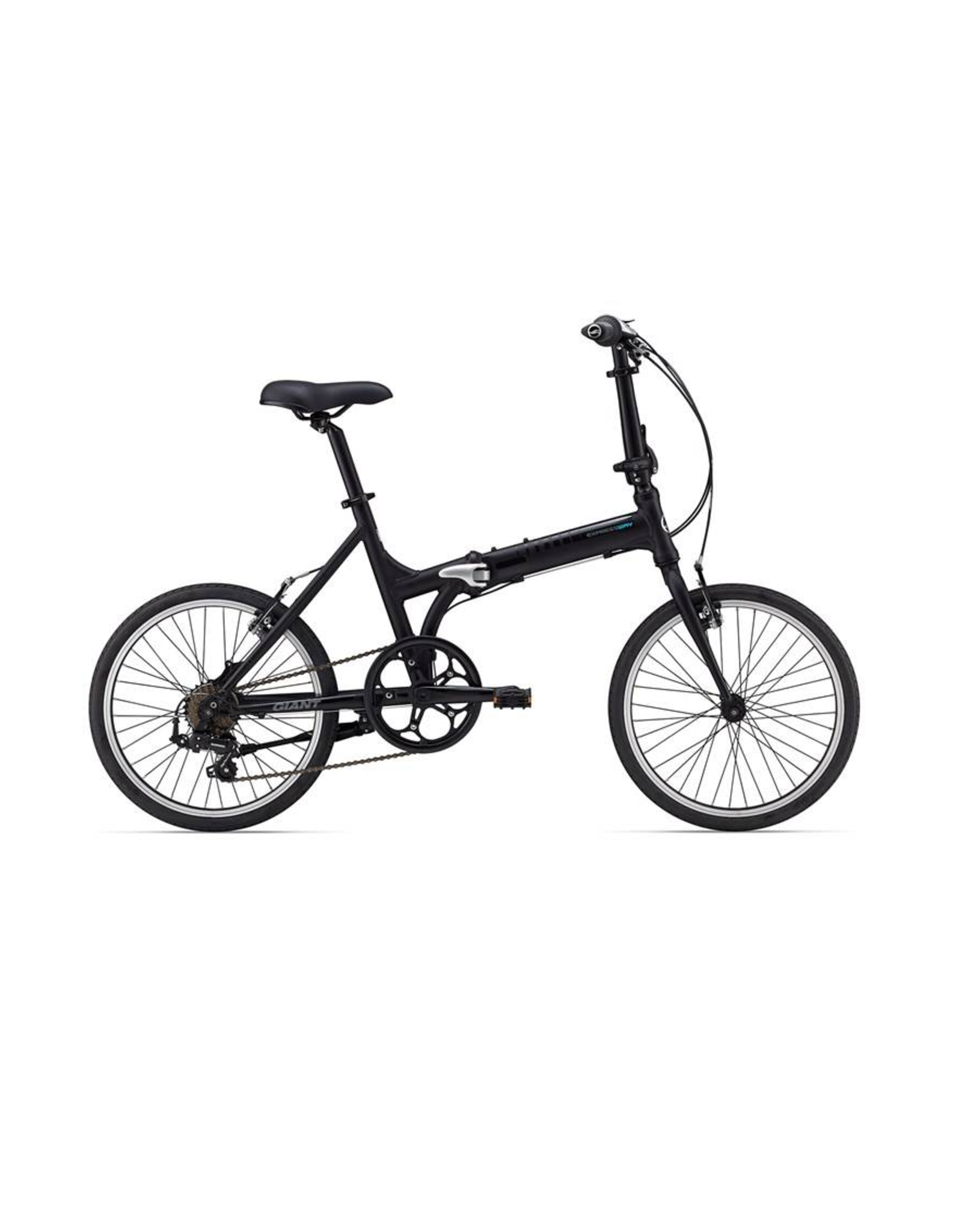 Giant ExpressWay 1 Dark Grey/Silver Folding Bicycle