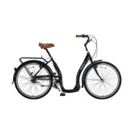 Biria Biria Easy Boarding 7-Speed Black 46cm Bicycle