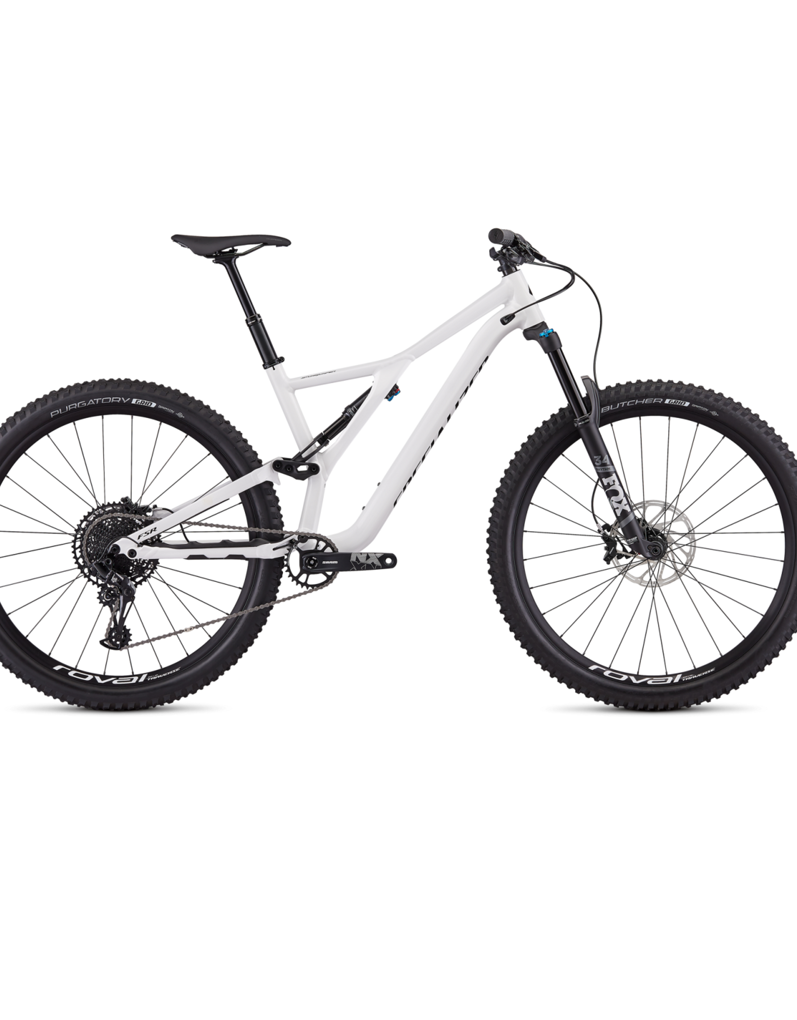 Specialized Specialized Stumpjumper FSR Comp 27.5 12-Speed 2019 White/Black Bicycle L