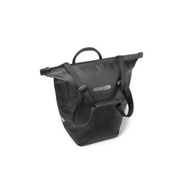 Ortlieb Pannier - Ortlieb Bike Shopper Pannier: Each, QL2 Hardware, Slate/Black