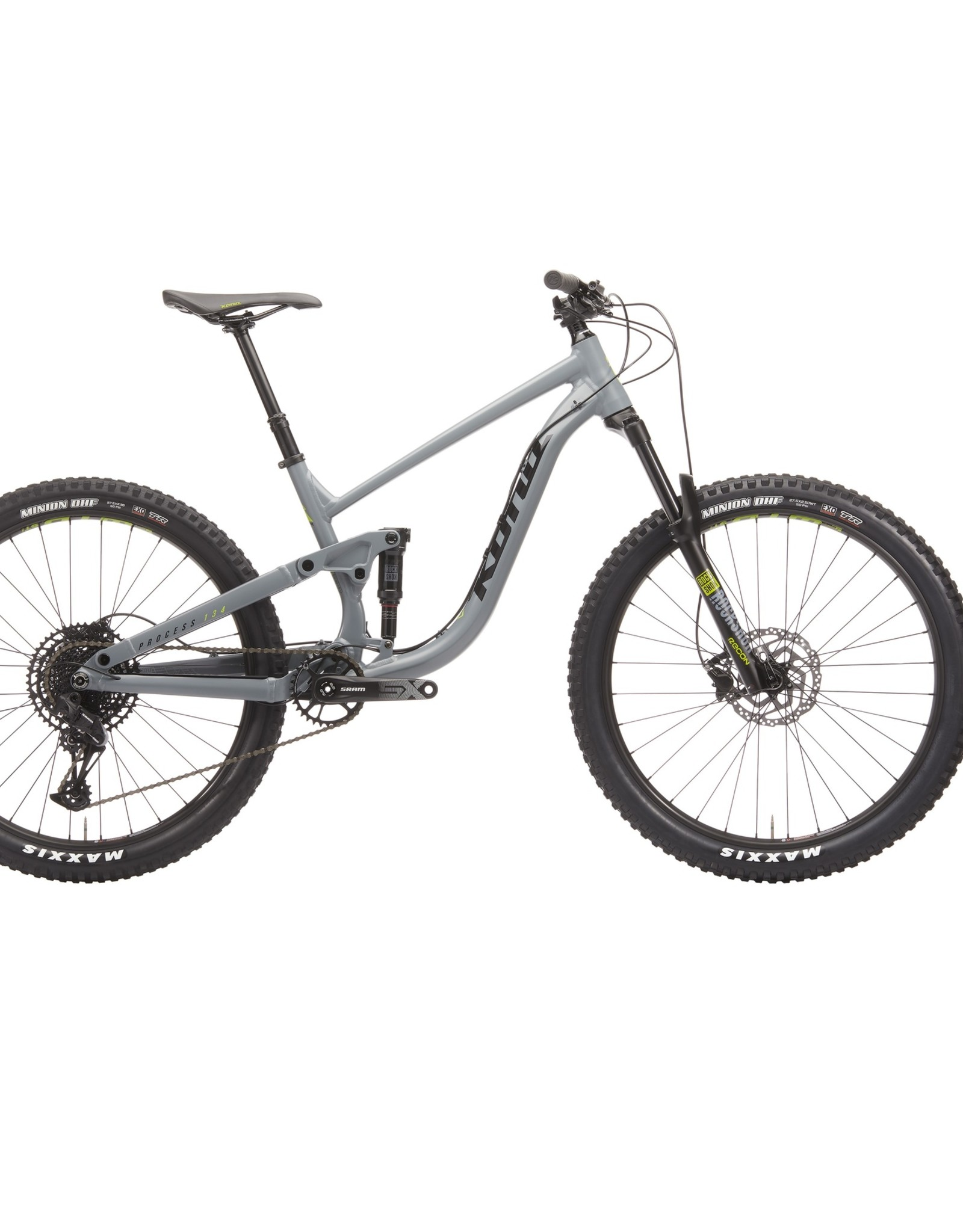 KONA Kona Process 134 Bicycle 27.5 Battleship Gray XL