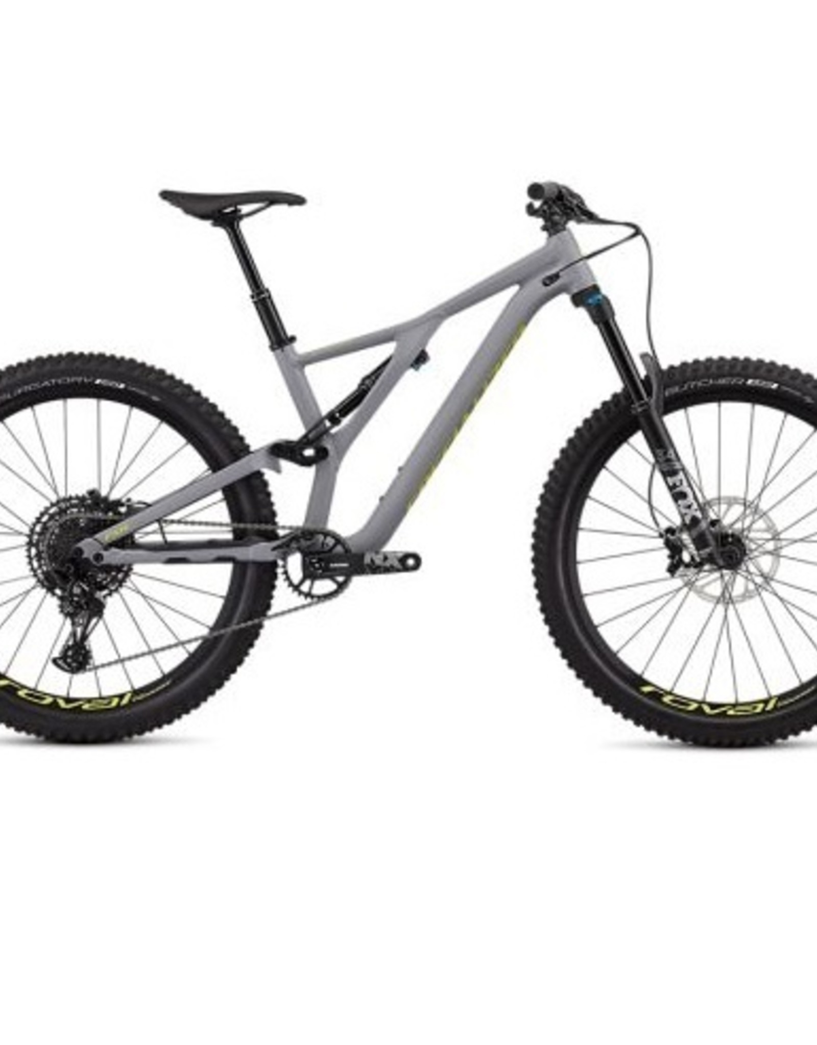 Specialized Specialized Stumpjumper FSR Comp 27.5 12-Speed 2019 Grey/Yellow Bicycle L