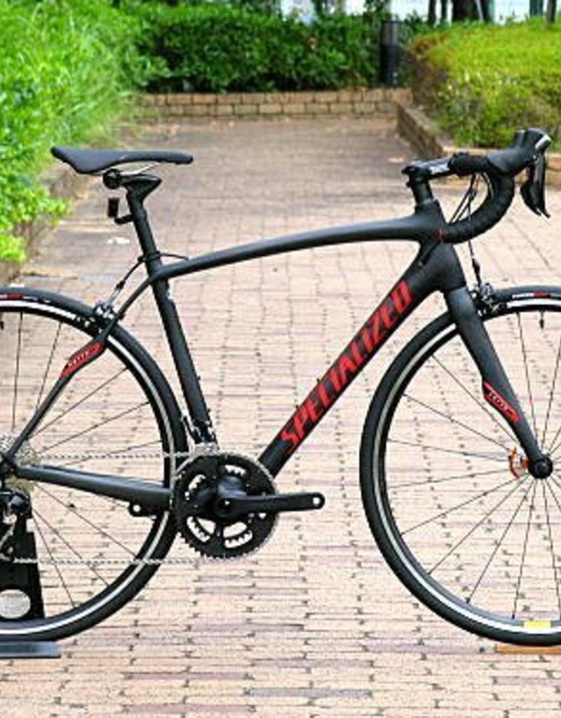 Specialized Specialized Roubaix SL4 Sport Rim Brake 2017 Black/Red 54cm Bicycle