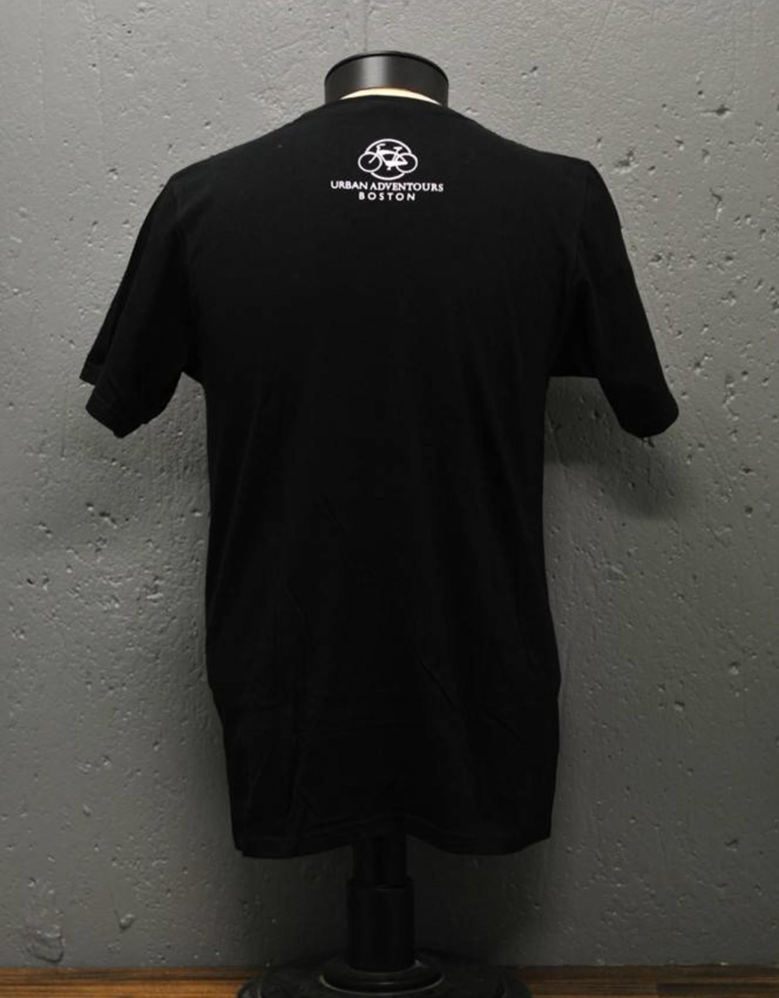 T-shirt - I Bike Boston - Mens