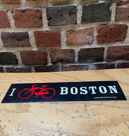 Sticker - Large UA Bumper Sticker (Black/Red)