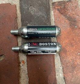 CO2 Cartridge - 16g I Bike Boston Single Threaded Cartridge