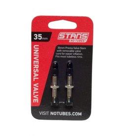 Tubeless Valve Stem - Stan's NoTubes 44mm Tubeless Valves: Pair