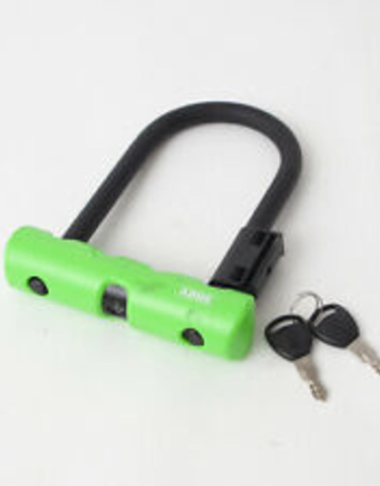 """Abus Lock - Abus Ultra 410 Mini, 5.5"""" Green"""