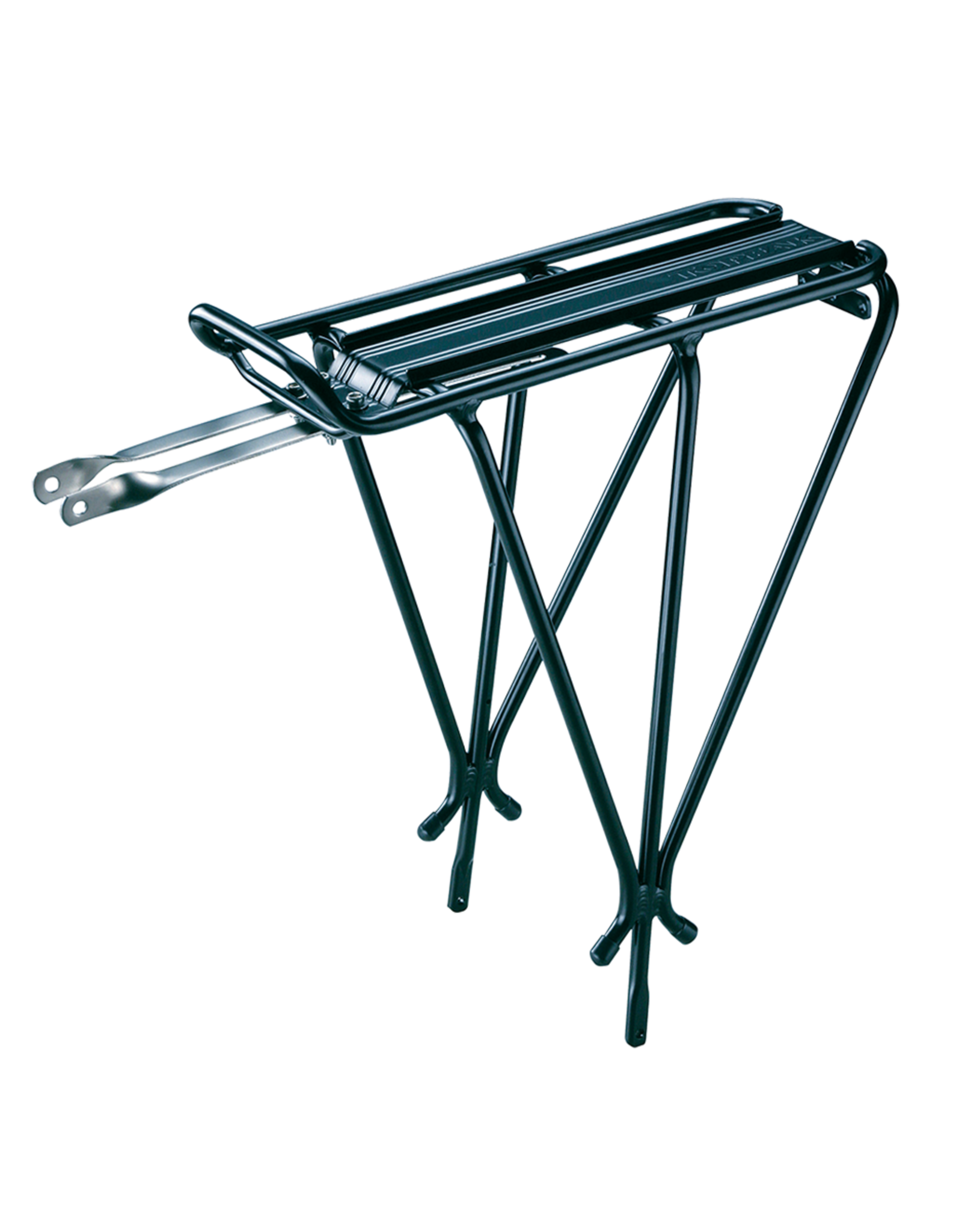Rack - Topeak Explorer Rear Rack: Black; Fits MTX Trunk Bags (Non-disc, no spring clip)