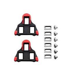 Shimano Cleats - Shimano SM-SH10 SPD-SL 0° Float Red